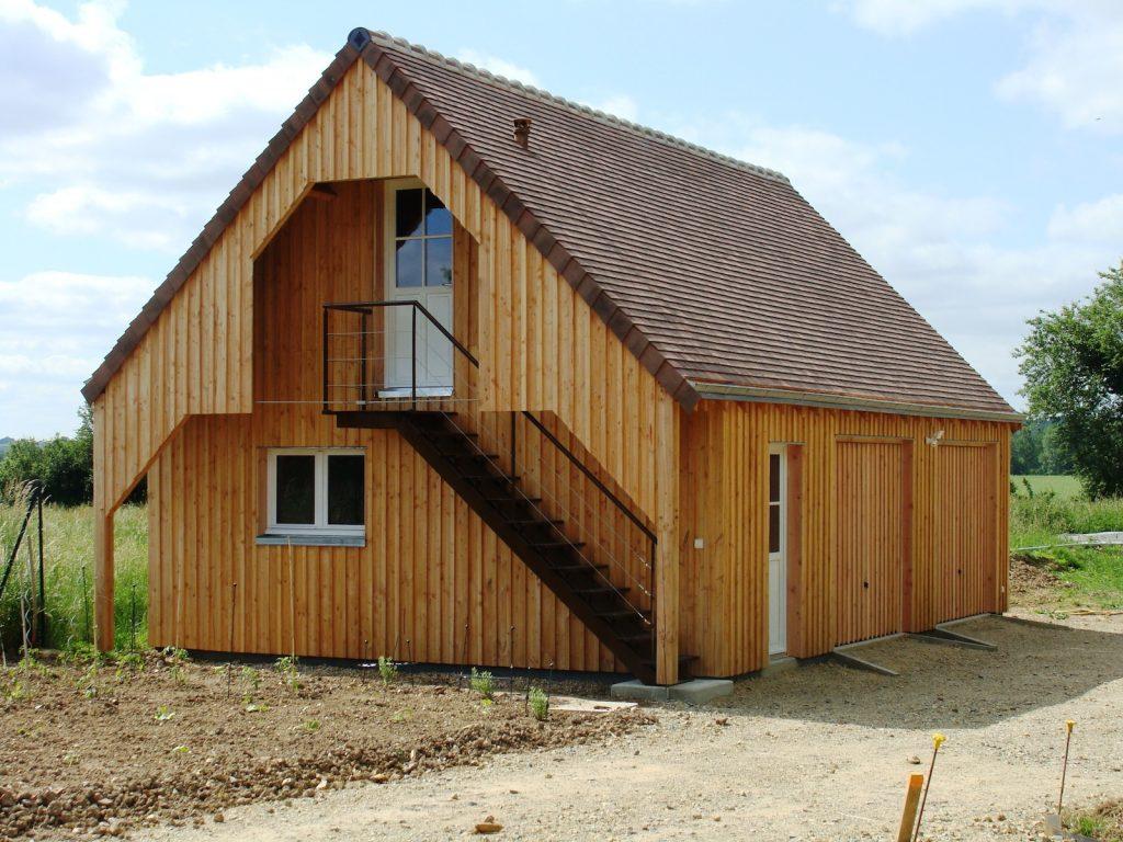 ger - garage façon grange - archigraph architecture : maison