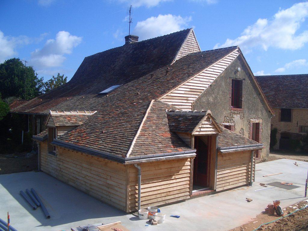 Rénovation d'une longère - Archigraph